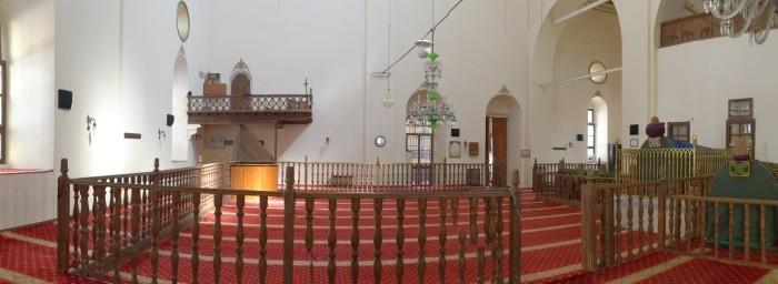 Wnętrze meczetu Mevlevi w Afyonie