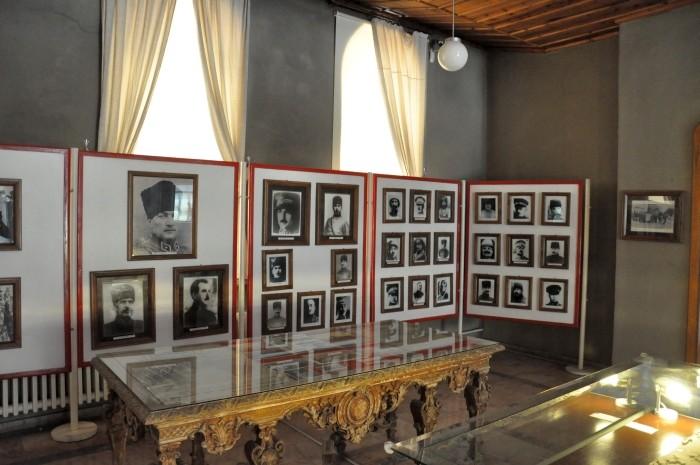 Wnętrze Muzeum Zwycięstwa w Afyonie