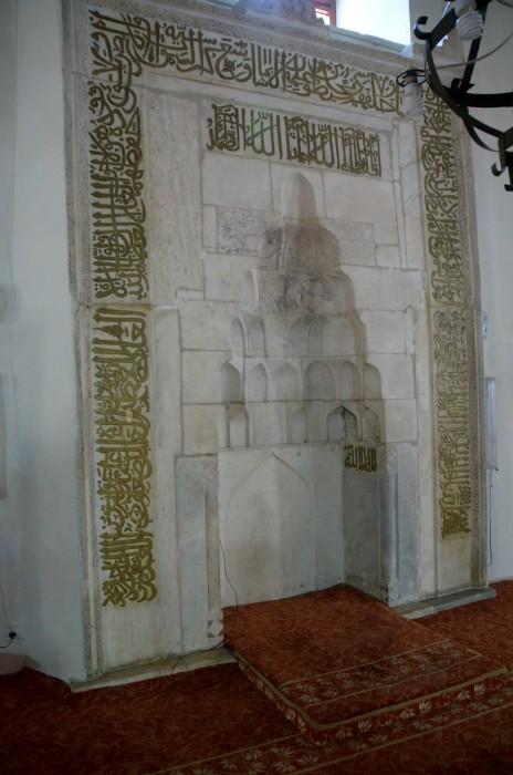 Mihrab Wielkiego Meczetu w Afyonie
