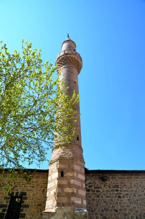 Minaret Wielkiego Meczetu w Afyonie