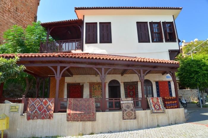 Budynek z czasów osmańskich w Alanyi