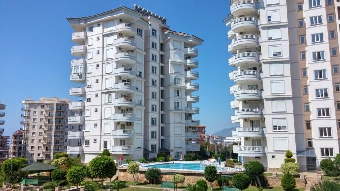 Osiedla apartamentowców w Tosmur, dzielnicy Alanyi
