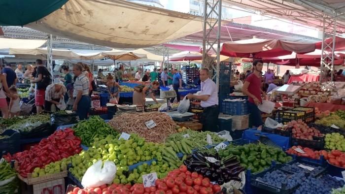 Bazar Piątkowy w Alanyi