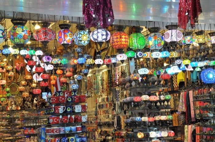 Ozdobne lampy - popularny pomysł na pamiątkę z Alanyi
