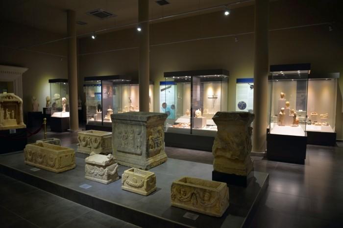 Główna sala muzeum
