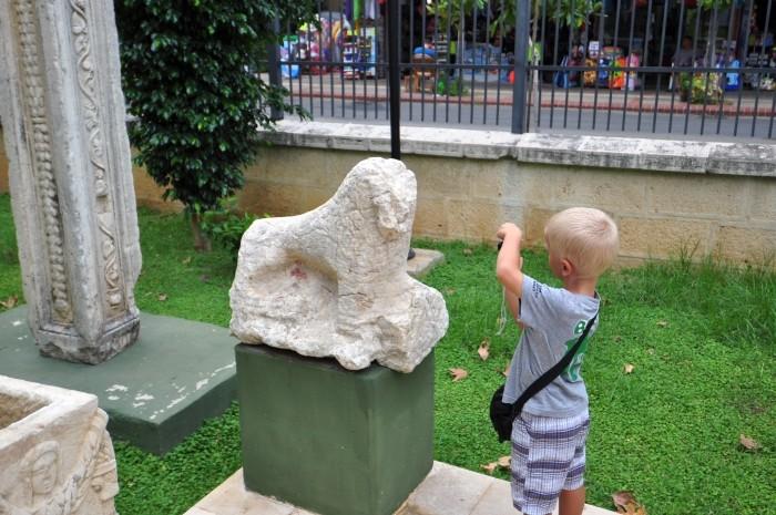 Z wizytą w Muzeum Archeologicznym w Alanyi