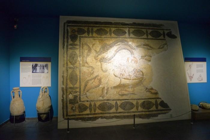 Mozaika o tematyce morskiej