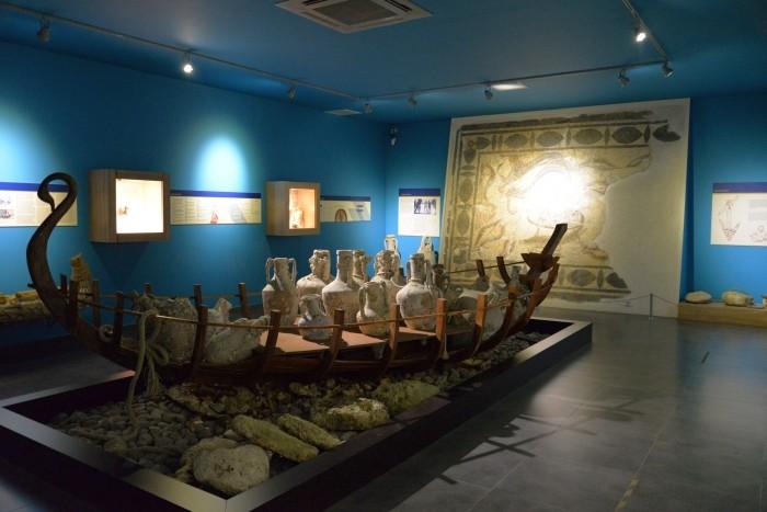 Sala morska w muzeum