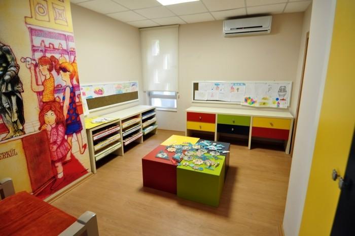 Sala zabaw dla dzieci w Muzeum Archeologicznym w Alanyi