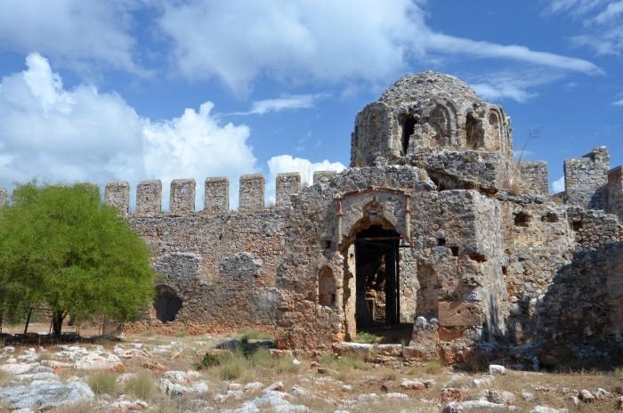 Bizantyjski kościółek na terenie Twierdzy Wewnętrznej