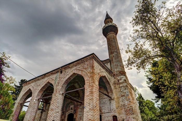 Meczet Sulejmana na wzgórzu zamkowym w Alanyi