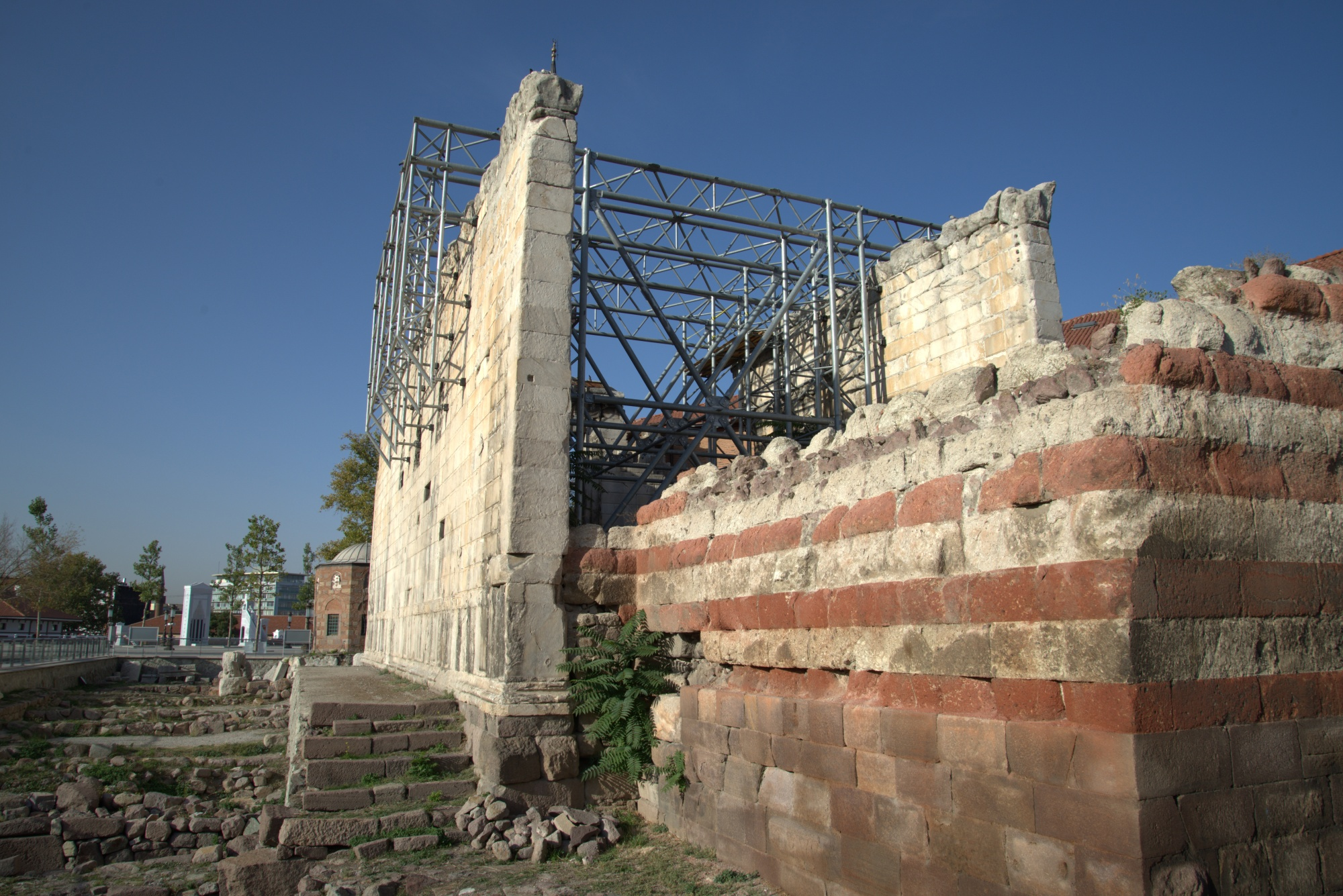 Świątynia bogini Romy i cesarza Augusta w Ankarze
