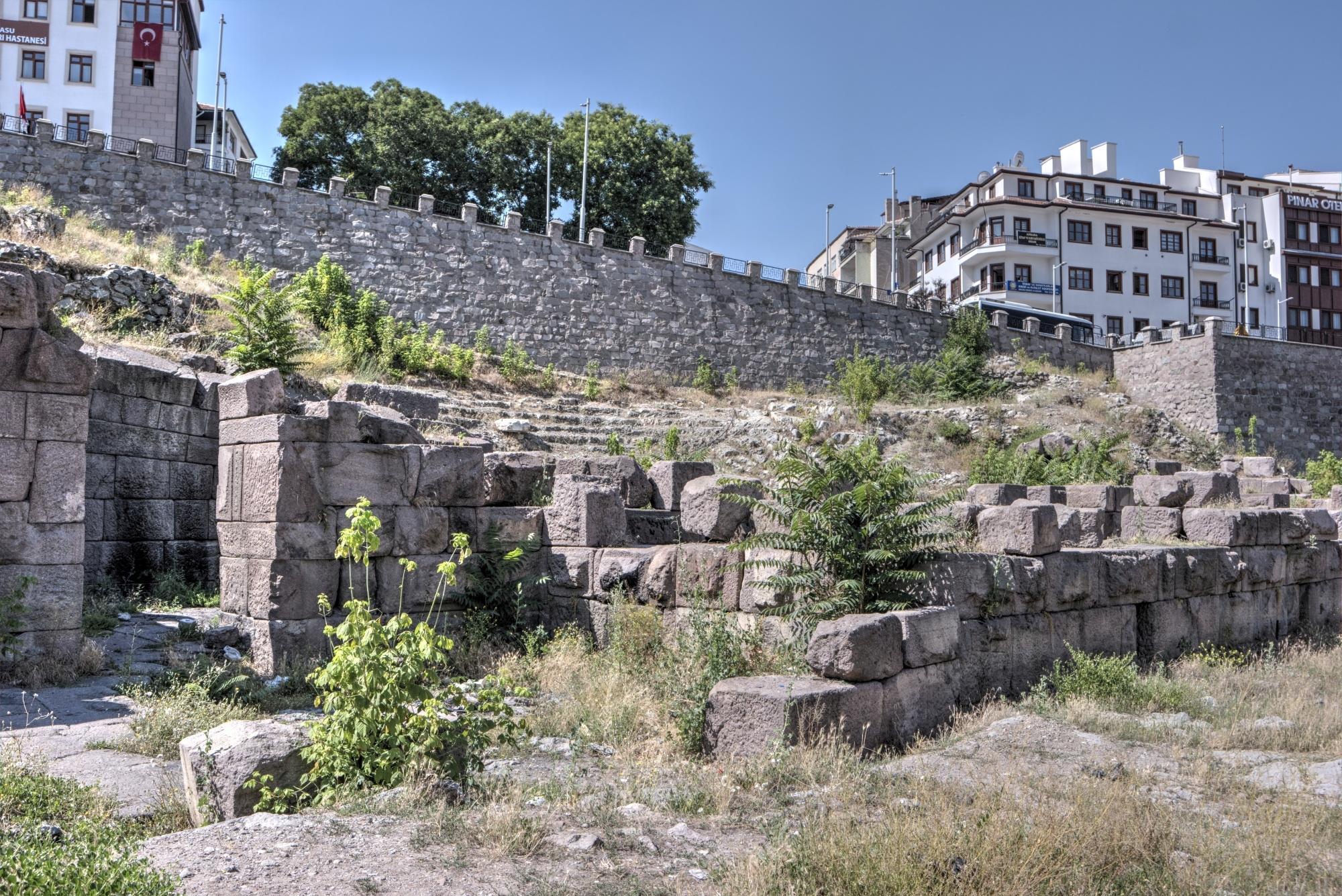 Rzymski teatr w Ankarze