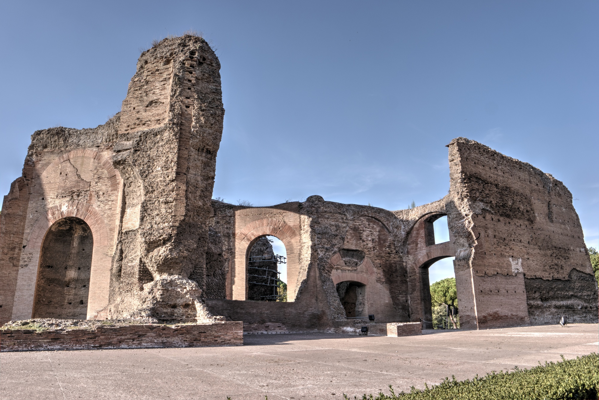 Baths of Caracalla in Rome