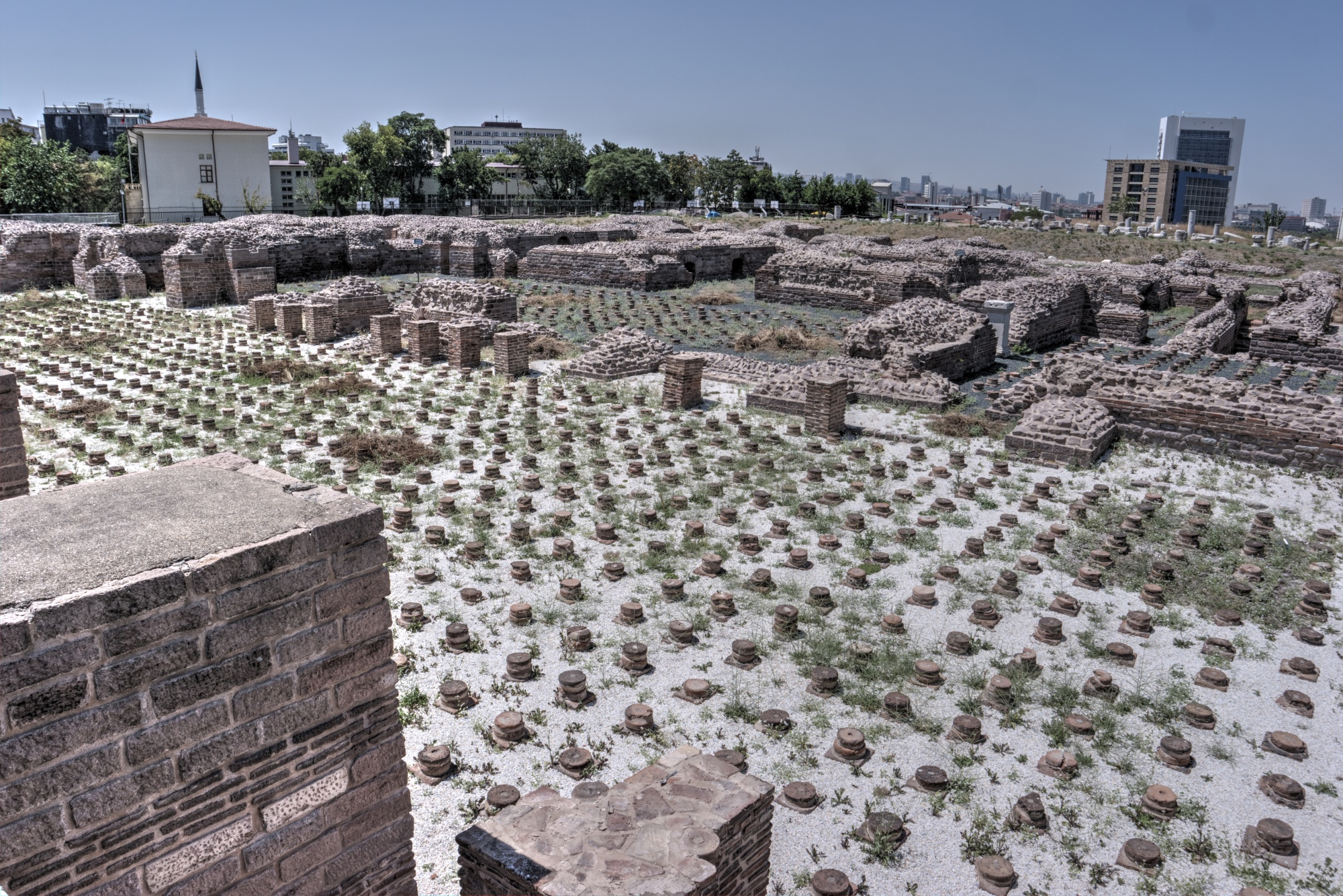 Hypocaust of Roman Baths in Ankara