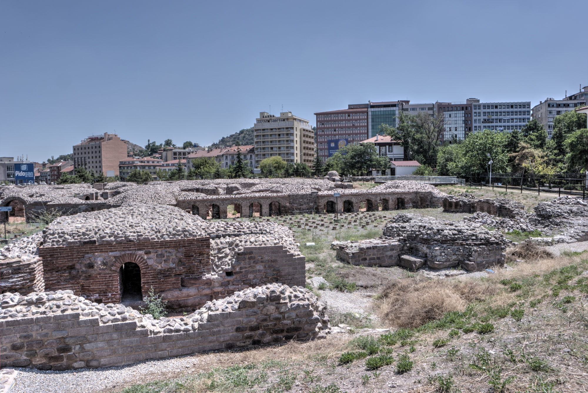 Roman Baths in Ankara