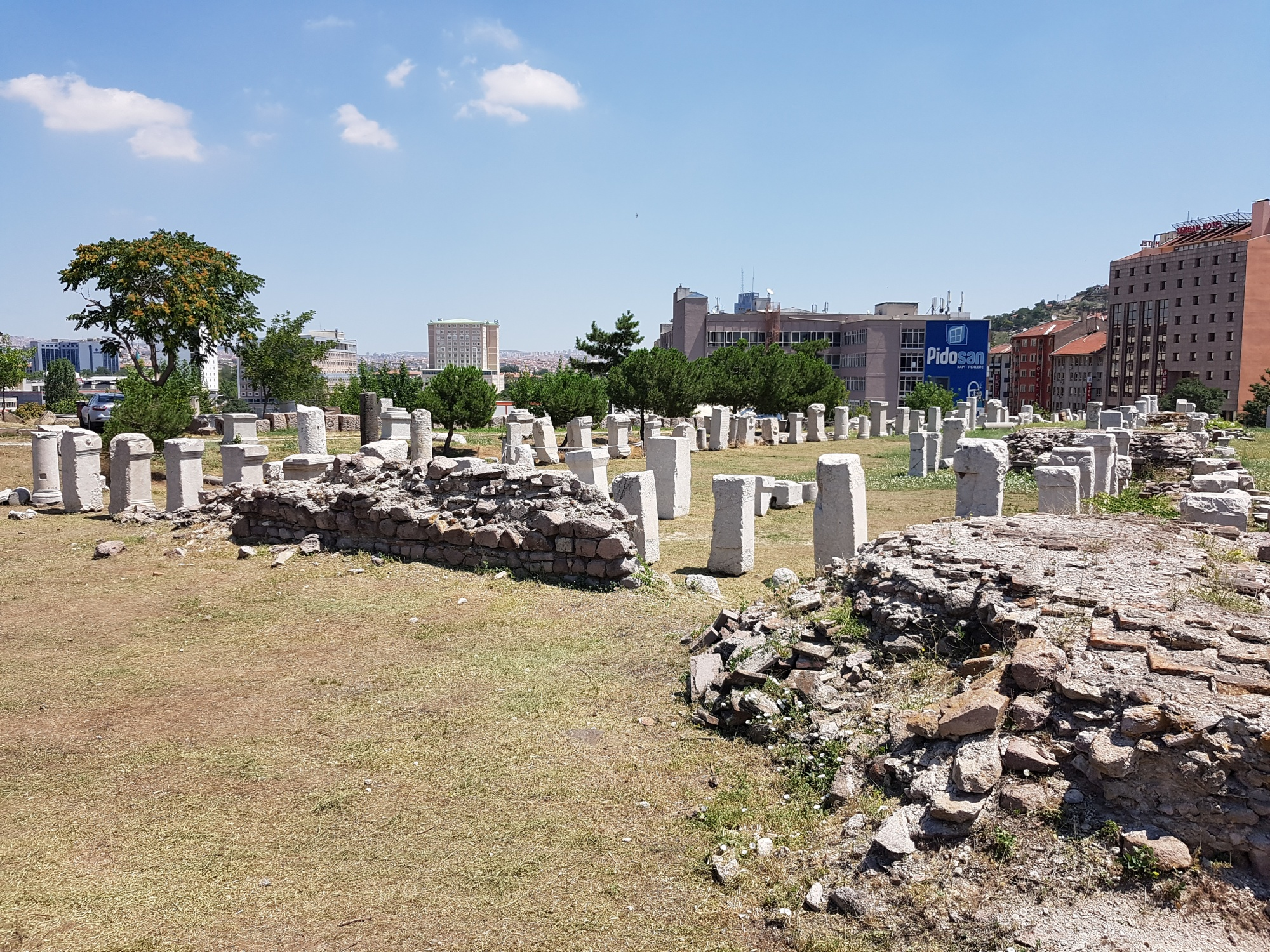 Lapidarium, Roman Baths in Ankara