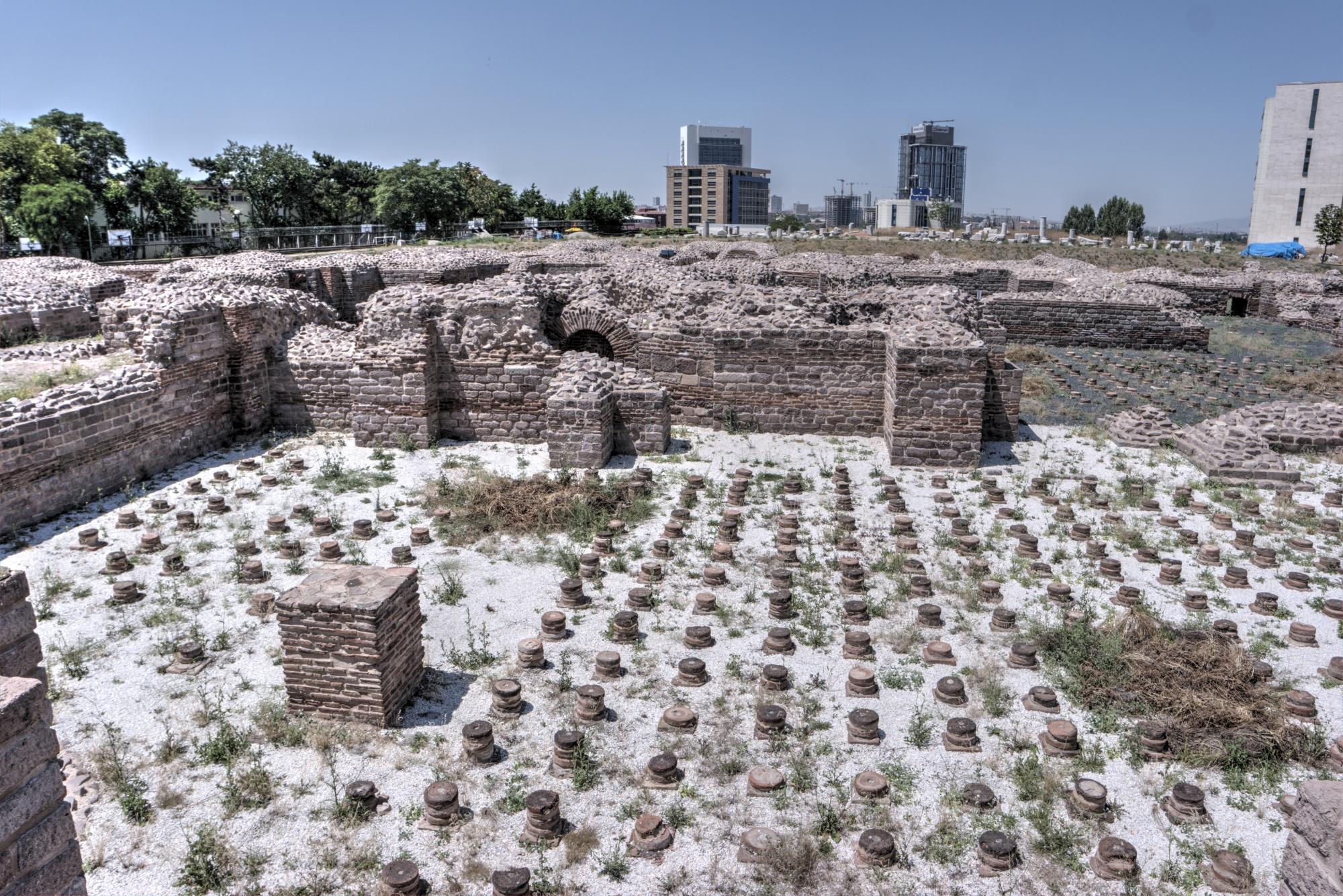 Rzymskie łaźnie w Ankarze