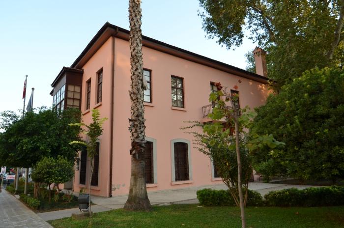 Budynek, w którym mieści się obecnie muzeum - replika Domu Atatürka
