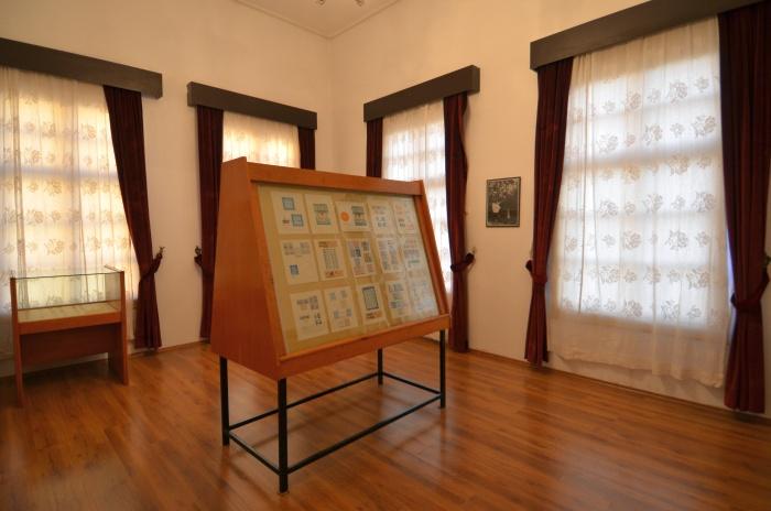 Kolekcja znaczków pocztowych - ekspozycja w Domu Atatürka w Antalyi