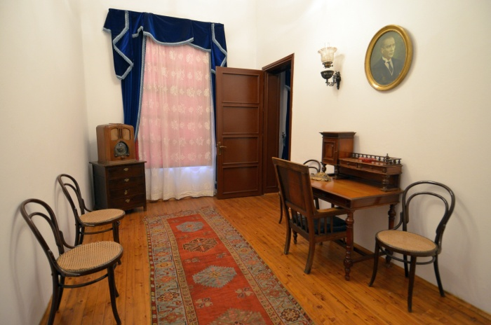 Gabinet w Domu Atatürka w Antalyi