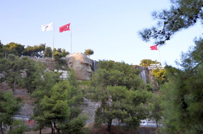 Wjazd do Antalyi od strony Kepez