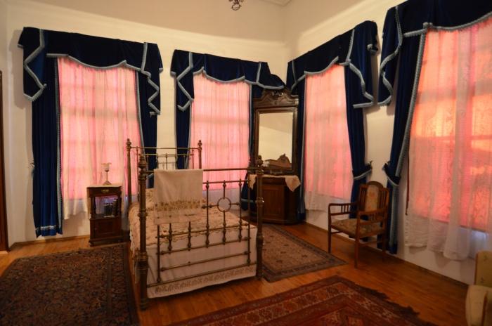 Sypialnia wodza w Domu Atatürka w Antalyi