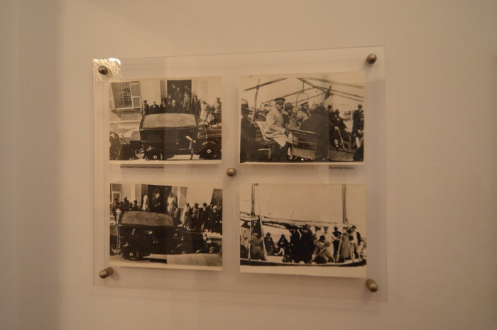 Zdjęcia z wjazdu Atatürka do Antalyi - ekspozycja muzealna
