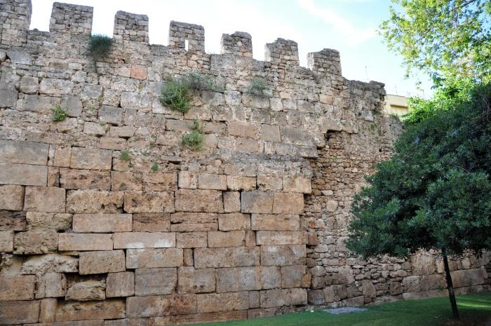 Mury obronne w Antalyi