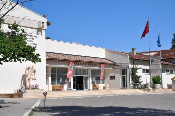 Budynek Muzeum Archeologicznego w Antalyi