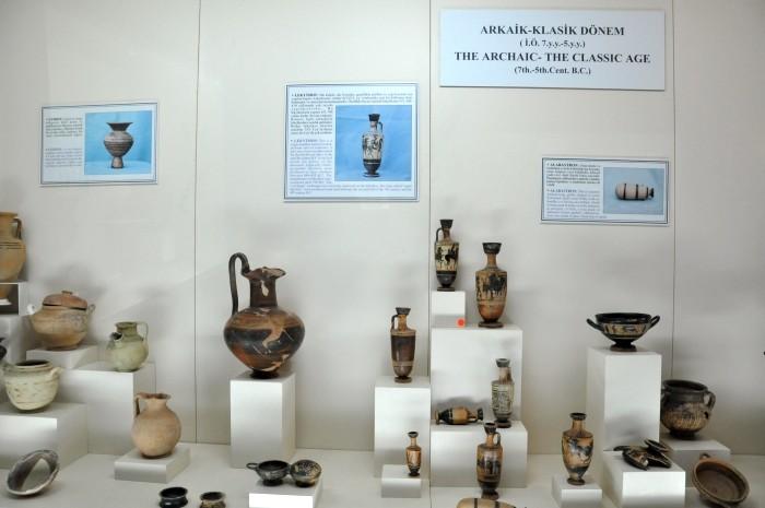 Ceramika z okresów archaicznego i klasycznego