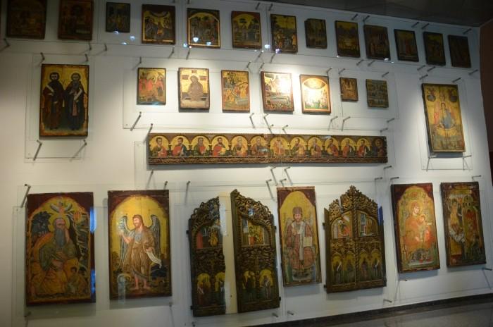 Kolekcja ikon w Muzeum Archeologicznym w Antalyi