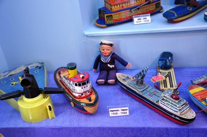 Muzeum Zabawek - ekspozycja morska