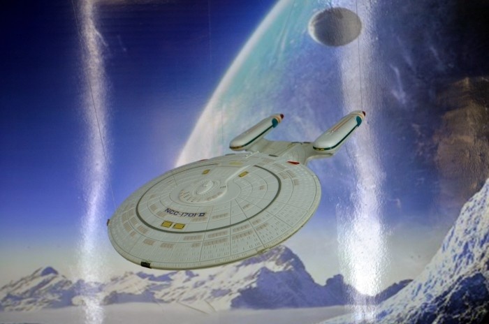 Muzeum Zabawek - model statku Enterprise z serialu Star Trek
