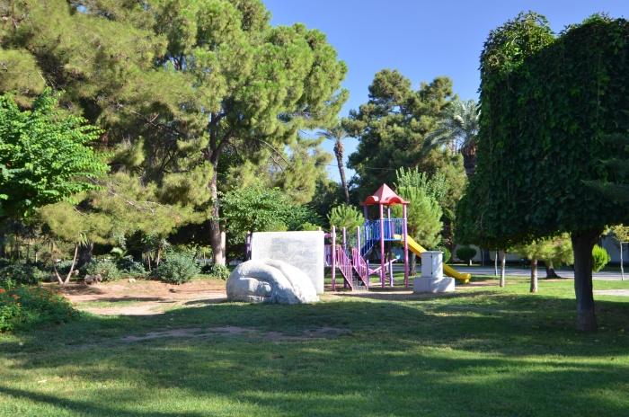 Plac zabaw w parku Karaalioğlu