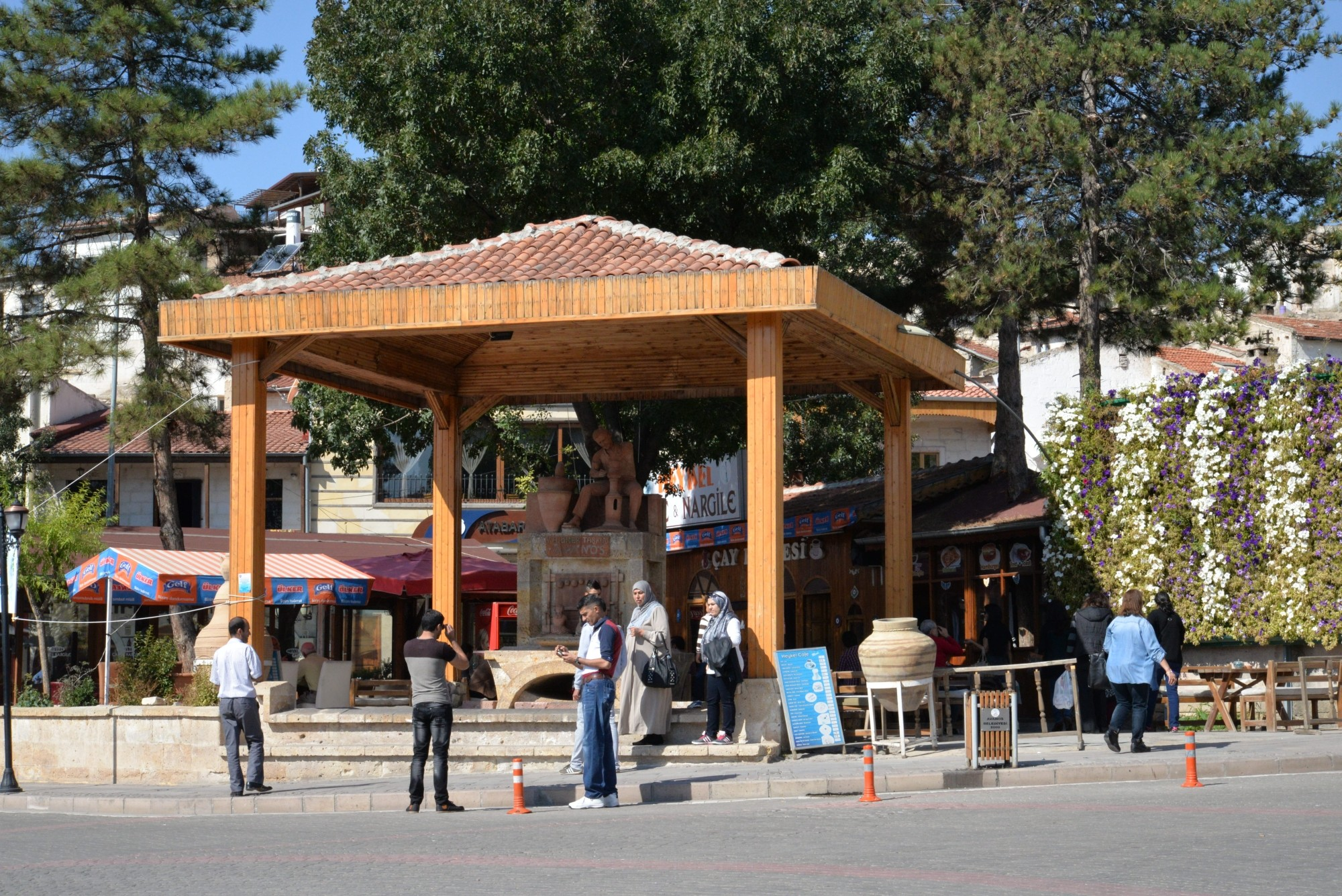 Pomnik garncarza w Avanos