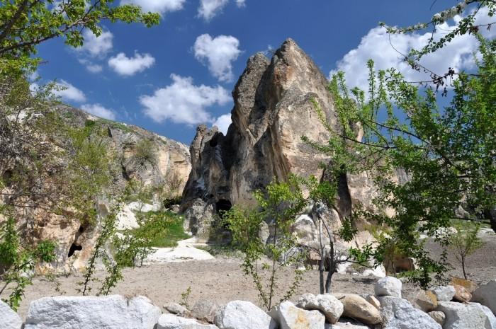 Krajobraz w okolicach Ayazini