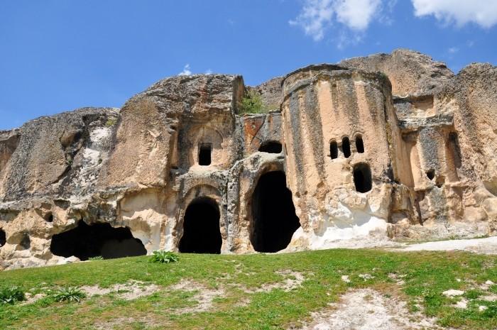 Bizantyjski kościół skalny w Ayazini