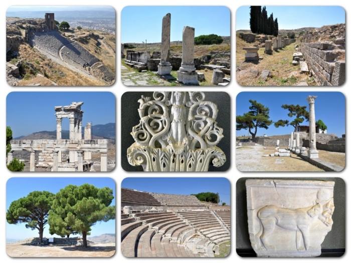 Zabytki Pergamonu