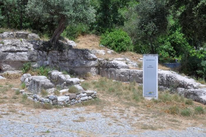 Grób z czasów rzymskich przy Bramie Myndos