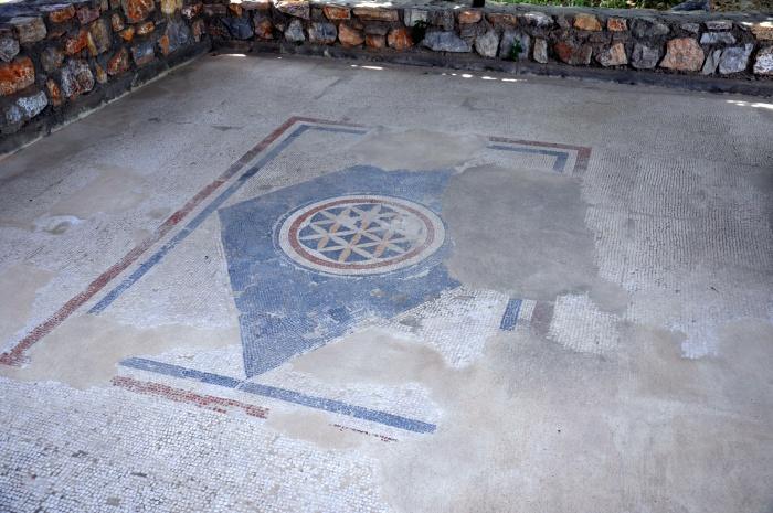 Mozaika hellenistyczna z około 100 roku p.n.e.
