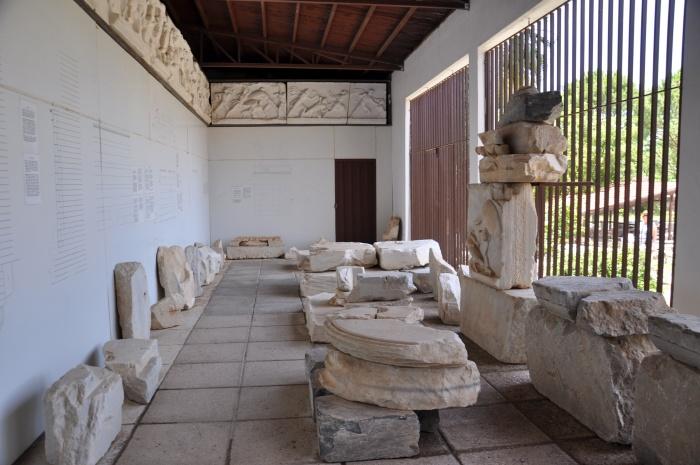 Salon wystawowy przy Mauzoleum