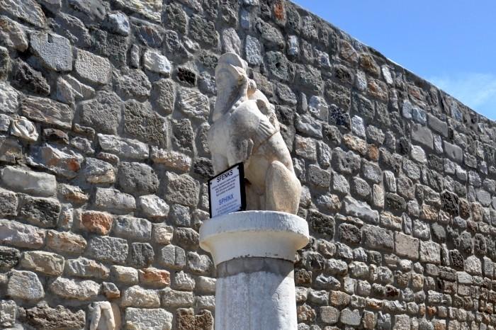 Sfinks z antycznego miasta Labranda
