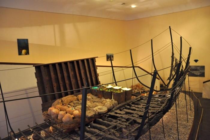 Pozostałości wraku statku z Serçe