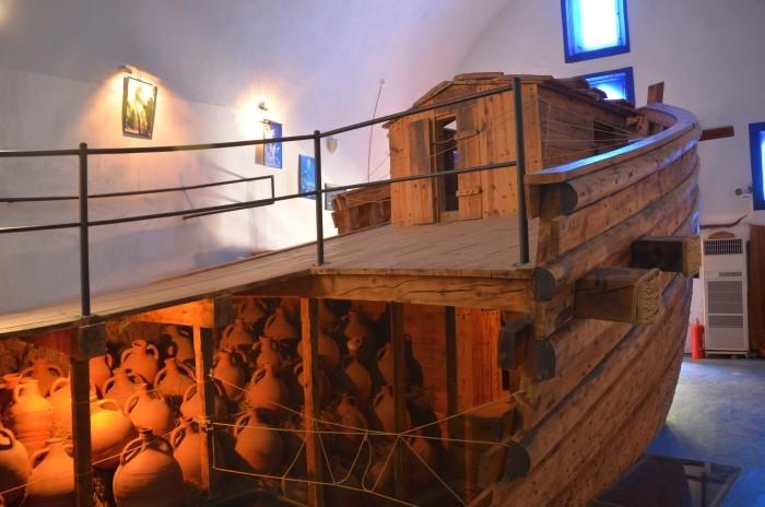 Rekonstrukcja bizantyjskiego statku z Yassıada