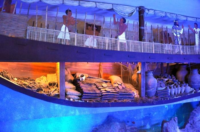 Rekonstrukcja statku z Uluburun