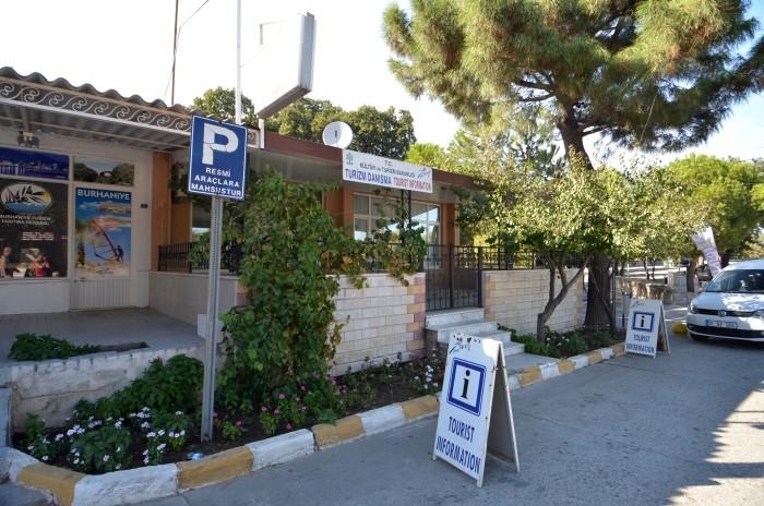 Biuro informacji turystycznej w Burhaniye - zazwyczaj nieczynne