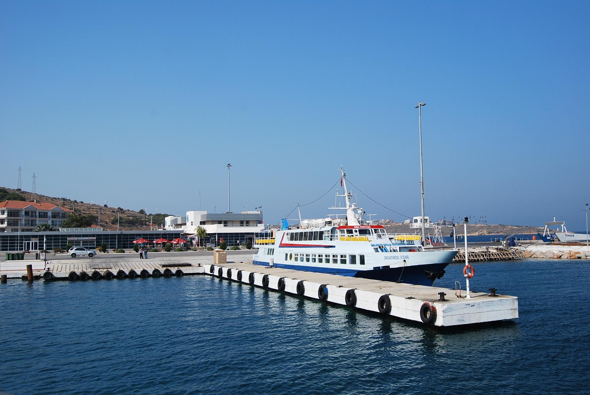 Port promowy w Çeşme