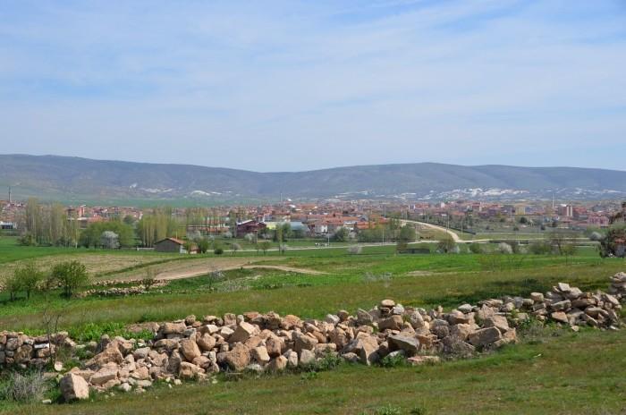 Widok na Döğer z kierunku południowego