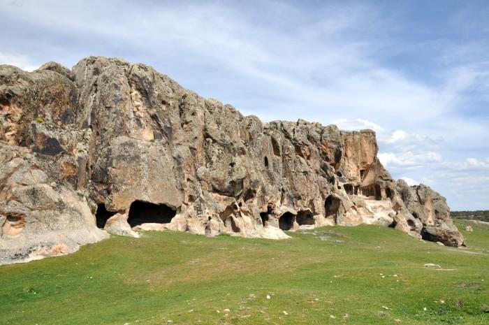 Bizantyjskie miasto skalne Kırkmerdiven Kayalıkları